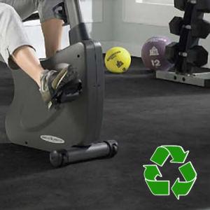 Stoßdämpfende Fliese, GummiCrossfit Trainings-Fußboden, Gymnastik-Matten-Fliese