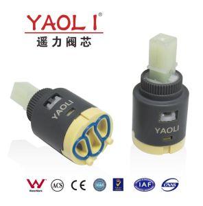 25mmのディストリビューター(YLD25-07)のないアウトレット前部陶磁器のバルブ・コア
