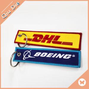 Lockrand металлические цепи ключ с вышитым патч Custom