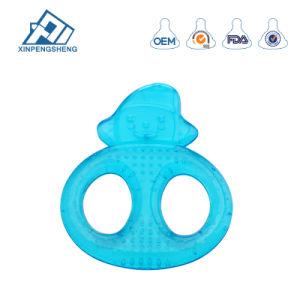 Venda cheio de água quente mordedor para Bebê Grau Alimentício mordedor para bebê mordedor de silicone com injecção de água