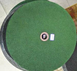 Het groene Malende Wiel van de Kleur en Scherp Wiel voor Metaal en Roestvrij staal