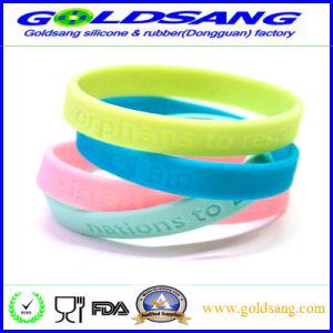 Wristband variopinto professionale del braccialetto del silicone di Whoiesale