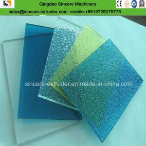Plaque de panneaux de polycarbonate
