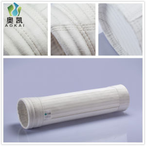 Sacchetti filtro antistatici della polvere del poliestere di fabbricazione della fabbrica per il mulino da grano