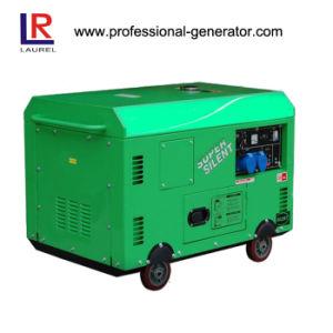 10kw piccolo generatore diesel silenzioso (LR15000SE)