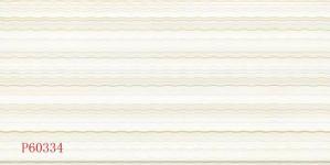 Tegel van de Muur van het Ontwerp van de golf de Glanzende Gebeëindigde Ceramische (P60334)