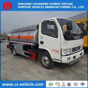 Dongfeng 4X2移動式オイルのRefueller端末の燃料のタンカー8000Lのディーゼルガソリンタンクのトラック