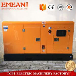 경제력 AC 1/3phases Cannopy 64kw 80kVA 침묵하는 디젤 엔진 발전기 Genset