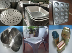 China de Aluminio de precisión electrónica por parte de estampación