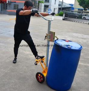 Camion di mano del timpano della rotella del fornitore 4 della Cina con 450kg capienza De450d