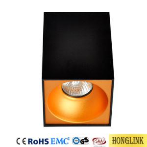 Oberflächen-GU10 Halter eingehangene Deckenleuchte-Vorrichtung des Hotel-LED