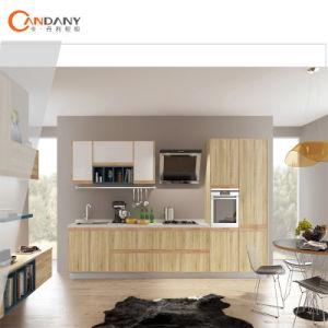 Fabrik-direkter Melamin-Schüttel-Apparat alle hölzernen Küche-Möbel