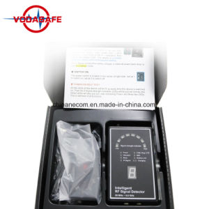 Hoch entwickelter Fachmann GPS-Verfolger-Detektor machen verborgener Verfolger-Spion-Kamera-Detektor kriechstromfeste Anti-Spion Einheit des GPS-Verfolger-Exposee-2g 3G 4G GPS bekannt