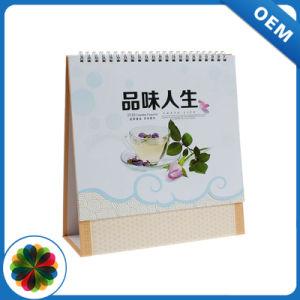 Todas as cores da tabela de papelão de boa qualidade de impressão do calendário