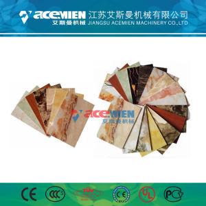 Antienvejecimiento imitado de PVC de alto rendimiento de la hoja de mármol de la máquina de Extrusión de perfil