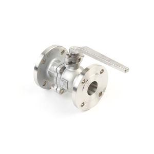 Norm Van de Kogelklep van de vervaardiging de Roestvrij staal Van een flens voorzien (DIN/AISI)