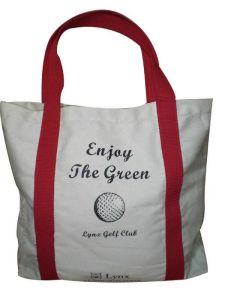 Saco de algodão profissional personalizado eco -Friendly Sacola de Compras