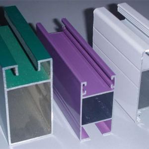 La partición de la Oficina de perfiles de extrusión de aluminio anodizado
