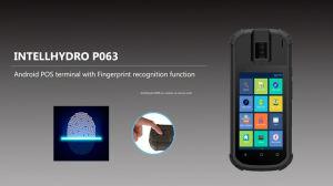 Slimme Androïde 7.0 POS Terminal, die een een Biometrische Scanner van de Vingerafdruk en Lezer Zonder contact van de Kaart kenmerken
