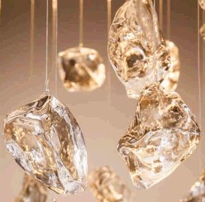 داخليّة كلاسيكيّة زخرفيّة بلّوريّة حجارة إنارة ثريا. ([2112د60])
