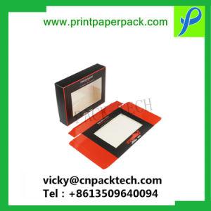 Kundenspezifischer Kleinverpacken-Kasten personifizierte Kästen mit Windows-umweltfreundlichem verpackendem Papierkasten