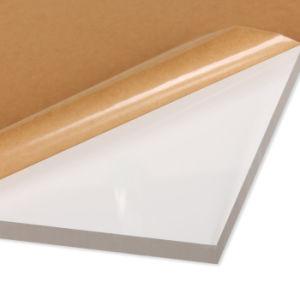 Tipo de fundido a PMMA 1-30mm de espessura da placa em acrílico transparente