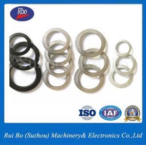 La Chine a fait la norme DIN9250 de la rondelle de verrouillage de sécurité/Rondelle striée