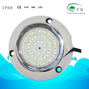 12V 316ss 90mm 6W RGB ultra mini LED che nuotano l'indicatore luminoso subacqueo del raggruppamento