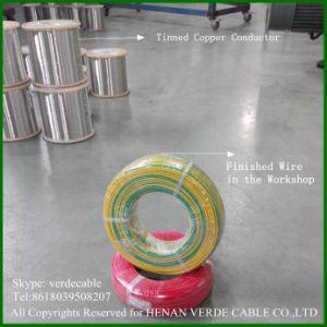 Aislamiento de PVC flexible la construcción de caucho de silicona Thhn Cable Eléctrico Cable Eléctrico en espiral de teflón