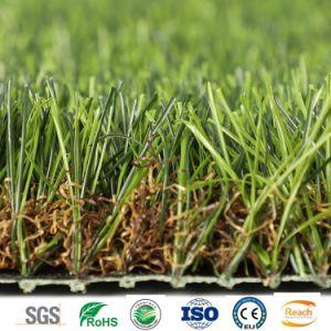 Künstliches Ton-Hauptyard-synthetisches Gras des Rasen-4 35mm