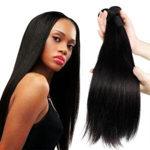 Capelli umani brasiliani non trattati di estensione 100% dei capelli di 100%