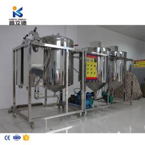 La refinación del aceite de girasol refinado de petróleo crudo de la máquina Máquina/Planta de refinería de aceite de cocina