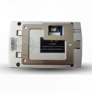 Lettore di impronta digitale biometrico autonomo della polvere IP65 Wiegand del metallo della scheda impermeabile di identificazione per il singolo portello