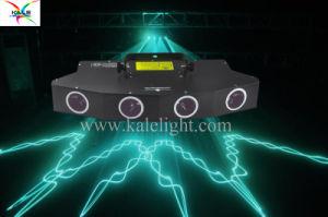 Караоке Бар DJ ночью 4 головки блока цилиндров 7 цветной лазерный луч воздействию лазера
