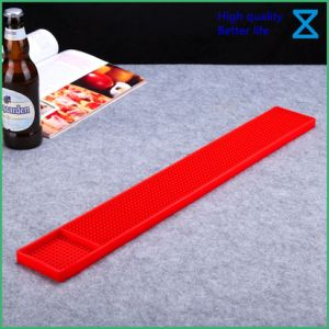Mat van uitstekende kwaliteit van de Staaf van het Silicone van pvc de Rubber voor de Giften van het Restaurant van de Staaf