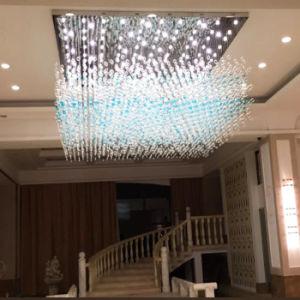 Projekt-Glasluftblasen-hängende Lampe, Sitz für Hotel