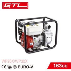 4 치기 163cc 가스 힘 Agrecultural는 도구로 만든다 6.5HP 3inch 가솔린 수도 펌프 (WP30X)를