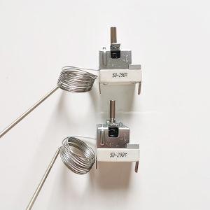 Personalizar 16A 250V 0~300grados termostato capilar para calentador de agua