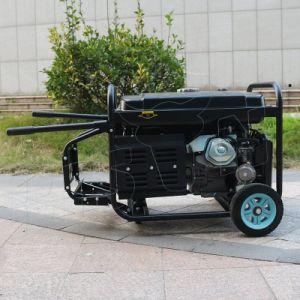 Bison (Chine) BS5500P (M) 4kw 4 kVA 1 an de garantie de haute qualité silencieux ensemble Air-Cooled générateur à essence