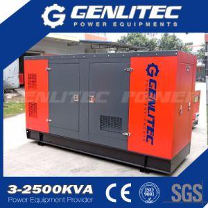 250kw 313kVA Denyo防音機構のCumminsのディーゼル発電機
