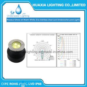 9wattによって引込められる水中LEDのプールLiht
