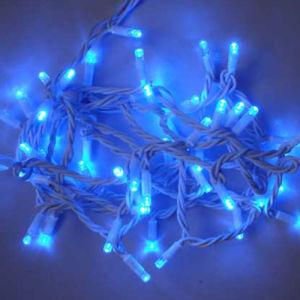 Dekoratives Dekoration-Weihnachtslicht des IP65 Lichtquelle-weißes Draht-LED