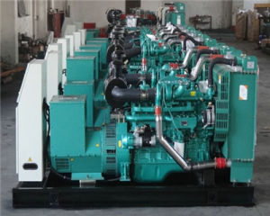 генератор охлаженный водой открытый 20kw-1200kw/молчком тепловозный