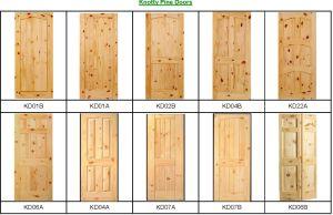 Portello di legno a prova di fuoco esterno (portello di legno)