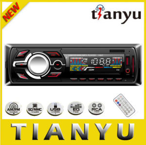 Panel fijo coche MP3 con pantalla LCD y reproductor de Bluetooth