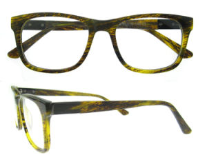 Het populaire Nieuwe Optische Frame van het Oogglas van Eyewear van de Acetaat van de Stijl