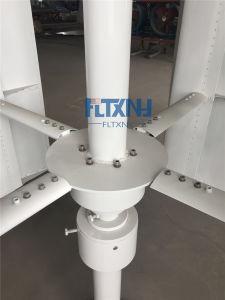 1000W генератора для вертикального Axies ветра с 4 лопастей белого цвета