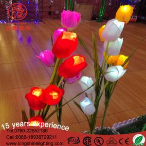 Эмуляция Tulip цветок лампа LED для украшения