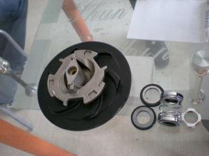 浸水許容の粉砕機ポンプ