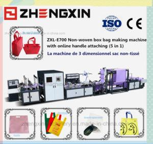 Saco Box-Shape People-Wanted não tecidos fazendo a máquina Zxl-E700
